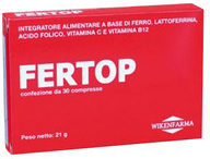 Wikenfarma Fertop Integratore Alimentare 30 Compresse