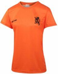 Oranje Nederlands Elftal Dames Voetbalshirt Thuis Blanco 2019-2021 Meisjes-Vrouwen - Leeuwinnen-128