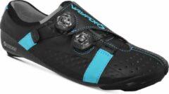Blauwe BONT Vaypor S - Racefiets schoenen - Black/Gamma Blue - maat EU43