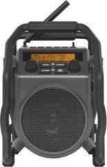 PerfectPro UBOX 400R DAB+/UKW-Baustellenradio, RDS, AUX, Bluetooth stoßfest