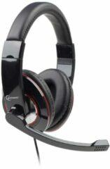 Gembird MHS-001 PC-headset 3.5 mm jackplug Kabelgebonden, Stereo Over Ear Zwart