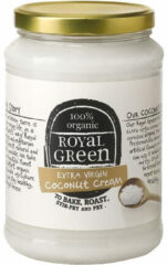 Royal Green Royal groen - Extra Virgin Coconut Cream (Kokosolie) - 1400 ml