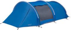 Blauwe Vango Kibale 350 Tent Trekking Tunnel Tent - Moroccan-Blue - 3 Persoons
