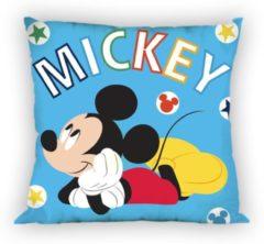 Disney Mickey Mouse Blue - Sierkussen - 35 x 35 cm - Blauw