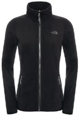 Zwarte The North Face 100 Glacier Full Zip Fleece - Outdoorvest - Dames - Maat XS - TNF Black