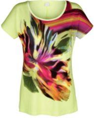 T-Shirt Alba Moda grün/bunt