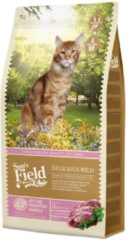 Sam's Field Cat Delicious Wild - Kattenvoer - 7.5 kg