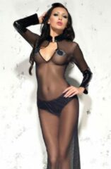 Zwarte Me Seduce Sarah Dress Black 2XL/3XL
