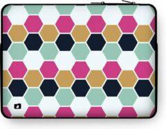 """DuckZip Laptophoes 15 inch – Macbook Sleeve 15"""" - Geometric N°5"""