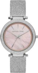 Michael Kors MK4518 Horloge Darci Mesh staal zilverkleurig-roze 39 mm