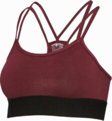Body & Fit Sport BH dames voor Fitness & Training - Rood - S