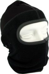 Fostex One hole motorhelm muts / skimuts - zwart / grijs - one size - outdoor / bivak / wintersport / ondermuts - eengaats balaclava