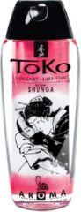 Transparante Shunga Toko Aroma Glijmiddel Champagne Strawberry