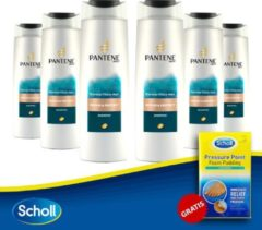 Pantene Pro-V Repair & Protect Shampoo - 6X250 ml + Scholl Pressure Point Foam Padding