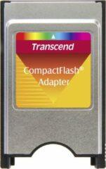 Transcend CompactFlash Adapter geheugenkaartlezer Zilver