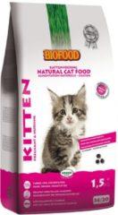4x Biofood Kittenvoer 1,5 kg