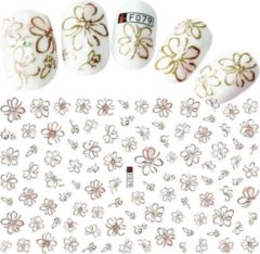 GUAPÀ - Nail Art 3D Flower Stickers - Nagel Decoratie & Nagel Folie - 92 Stuks