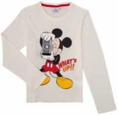 Disney Mickey Mouse - Longsleeve - Wit - 8 jaar - 128cm