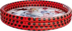 Miraculous opblaaszwembad junior 157 x 28 cm rood/zwart
