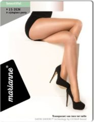 Marianne | 5 Pack | Panty 15Den Lycra | Lyon (Huidskleur Donker) | Maat S-M