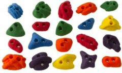 Metolius - Screw-On Footholds - Klimgrepen maat 20 Holds, rood