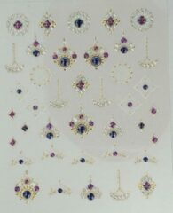 Korneliya 3D Nail Jewels DeLuxe - DL14 Shiny Agate