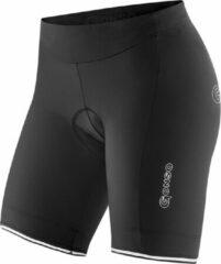 Gonso fietsbroek Sitivo W dames polyamide zwart/groen maat 42