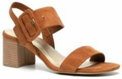 Nova dames sandalen met hak - Bruin - Maat 42
