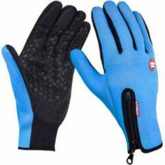 Chimb Winter handschoenen - Fietshandschoenen - Winddicht - Waterproof - Maat XL - Blauw