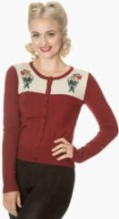 Dancing Days Cardigan -S- MERMAID MAIDEN Rood