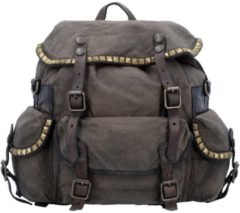 City Rucksack 32 cm Campomaggi military+stained grey