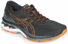 Oranje ASICS - Herenschoenen - Gel-Kayano 27 - black/marigold orange - maat 44 1/2