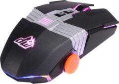 DragonWar Dragon War G22 Optische Ergonomische Gaming Muis - 7000DPi - RGB Verlichting - Zwart