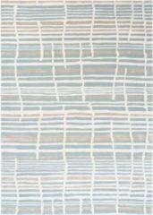 Florence Broadhurst - Tortoiseshell Stripe 39808 Vloerkleed - 170x240 cm - Rechthoekig - Laagpolig Tapijt - Landelijk, Scandinavisch - Meerkleurig