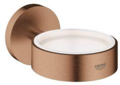 GROHE Essentials Houder voor zeepdispenser of glas - Wandbevestiging - Sunset gold (mat brons)