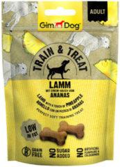 Gimdog Train & Treat 125 g - Hondensnacks - Lam&Ananas