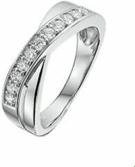 Quickjewels huiscollectie Huiscollectie 1316288 Zilveren zirkonia ring