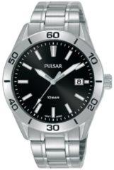 Pulsar PS9647X1 herenhorloge zilverkleurig 40 mm