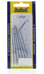 Duodent Ragers - Interdentale Borstels Large 1.2 6stuks