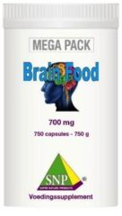 SNP Brainfood 700 mg megapack 750 Capsules
