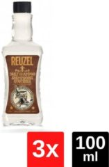 Reuzel Daily Shampoo - Voordeelverpakking - 3x100ml