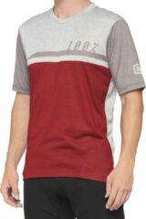100% MTB Fietsshirt Airmatic - KersGrijs - L