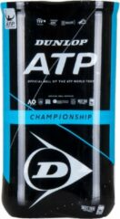 Gele Dunlop ATP Championship Tennisballen - 2x4 stuks