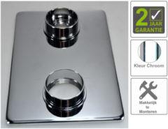 Boss & Wessing BWS Afbouwdeel Verlengset Douchethermostaat 2-knops 8mm Chroom
