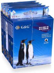Witte G&G Cartridge Brother set zwart + kleur A5