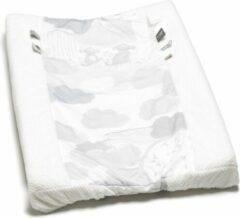 Snoozebaby Aankleedkussenhoes Happy Dressing (45 x 70cm) wit/grijs