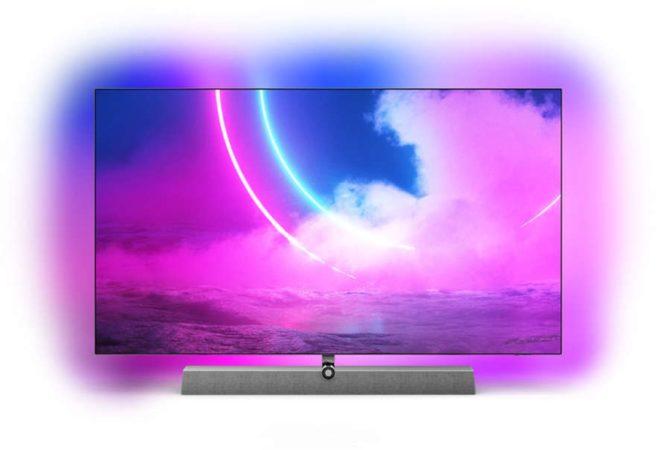 """Afbeelding van Antraciet-grijze Philips 48OLED935/12 tv 121,9 cm (48"""") 4K Ultra HD Smart TV Wi-Fi Brons, Grijs"""