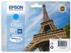 Epson inktcartridge T7022 XL cyaan, 2000 pagina's - OEM: C13T70224010