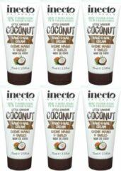 Inecto Coconut Hand & Nail Cream 6 pak