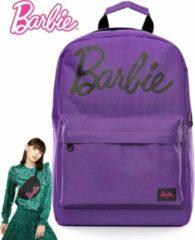 Paarse Barbie Backpack/Rugzak 30L + Barbie Heuptas 5L - Goodiepack